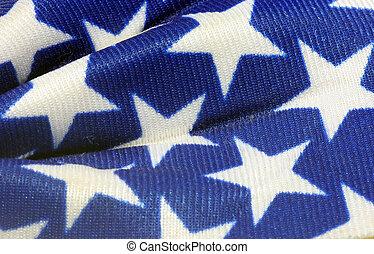 Close-up of american stars