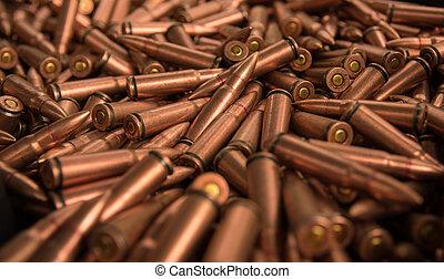 close up of ammunition