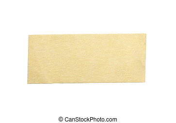 adhesive tape - close up of an adhesive tape on white ...