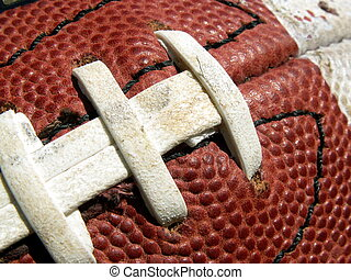 football - close-up of an American football