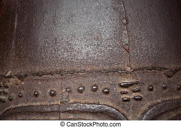 close up of antique cabinet