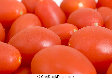 Close up of Baby Tomatoes