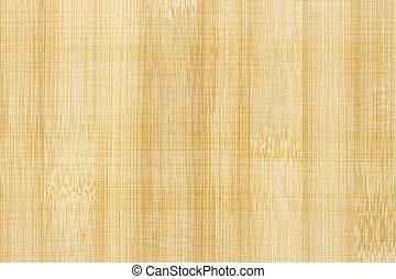 Close up of Bamboo board.