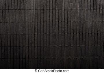 bamboo place mat - Close up of bamboo place mat background