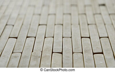 close up of bamboo plate background