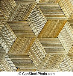close up of bamboo texture
