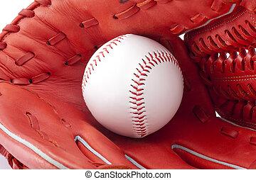 Baseball ball and globe