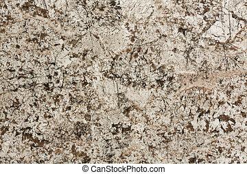 Close up of beige granite texture. background.