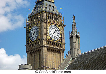 Close-up of Big Ben