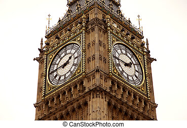 Close up of Big ben watch