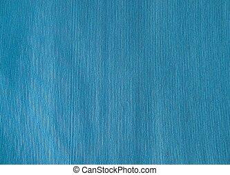 Close Up of Blue Cotton Textile Texture
