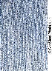 close-up of blue denim texture, denim canvas background