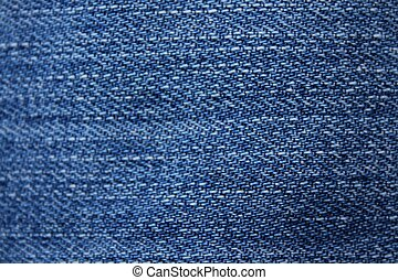 Close-up of blue jeans