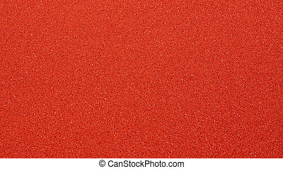Close-up of Brandnew Red Outdoor Basketball Court Floor, ...