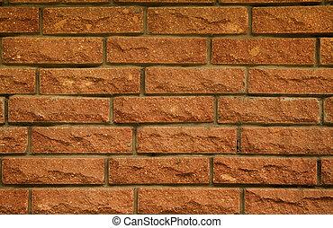 Close-up of brick texture