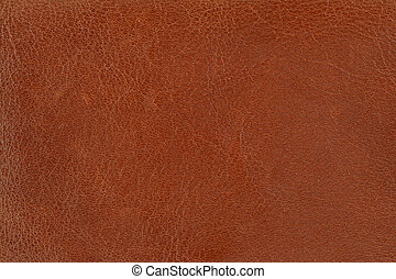 brown leather  - close-up of brown leather texture
