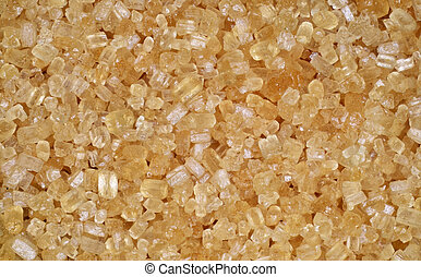 Close up of brown sugar