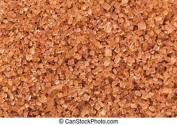 Close up of brown sugar texture. top view. texture
