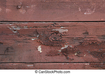 Close up of brown wood wall texture.