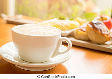 close up of cafe