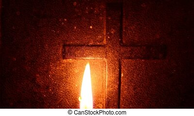 Candle - Close up of Candle for any  background