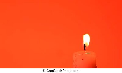 Candle - Close up of Candle light