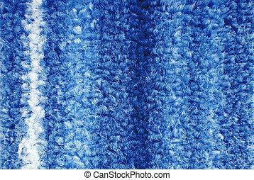 close up of carpet texture macro