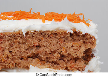 Close up of Carrot Cake