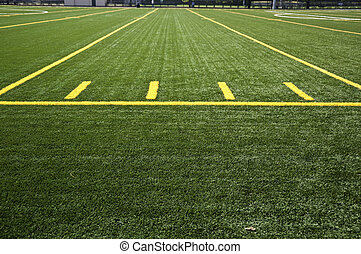 Close up of center field