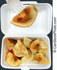 Chinese dumpling takeaway