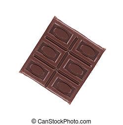 Close up of chocolate bar.