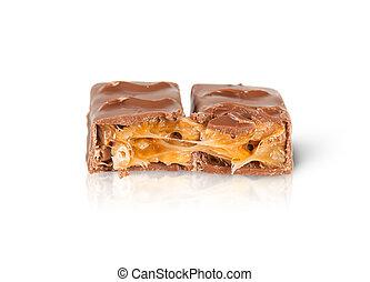 Close-up Of Chocolate Bar