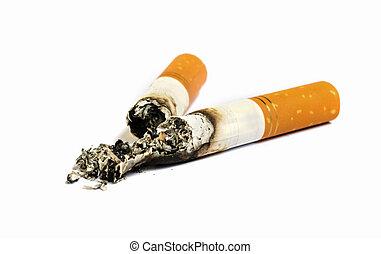 Close up of Cigarette.