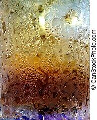 close up of cola