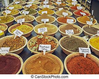 spice market in the old city of jerusalem