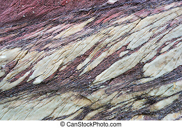 Close up of colorful rock surface, natural background,...