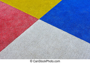 Close up of colourful rectangles background