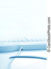 computer keyboard - Close up of computer keyboard
