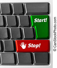 Computer keyboard with
