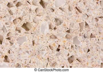 Close up of cookie acrylic stone texture.