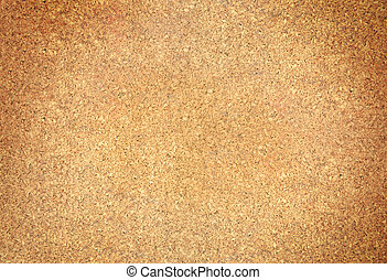 close-up of corkboard
