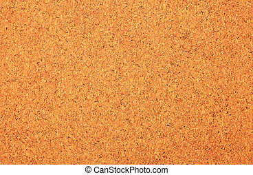 Close up of corkboard texture