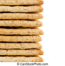 Close-up of crackers