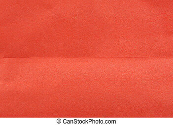 Close-Up Of Crumpled Red Paper Background