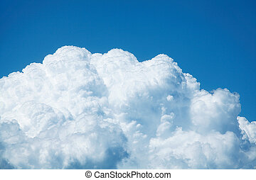 cumulonimbus - close-up of cumulonimbus