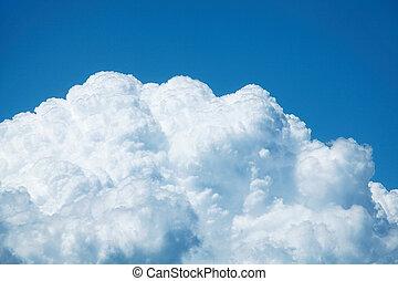 cumulonimbus - close-up of cumulonimbus
