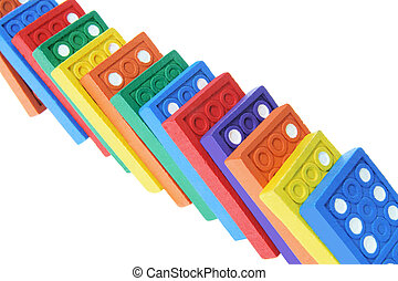 Close Up of Dominoes