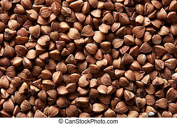 dry buckwheat background