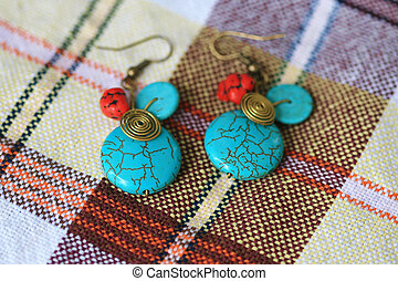 Close-up of Earring