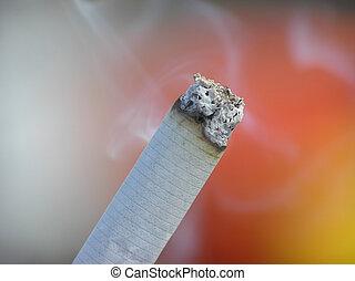 end of cigarette